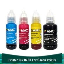 Tinta de impressora Compatível Canon G2100 G1100 G4810 G3900 G2900 G1900 G3100 G1000 G1400 GI-190 GI-790 GI-890 GI-990Ink Kit De Recarga