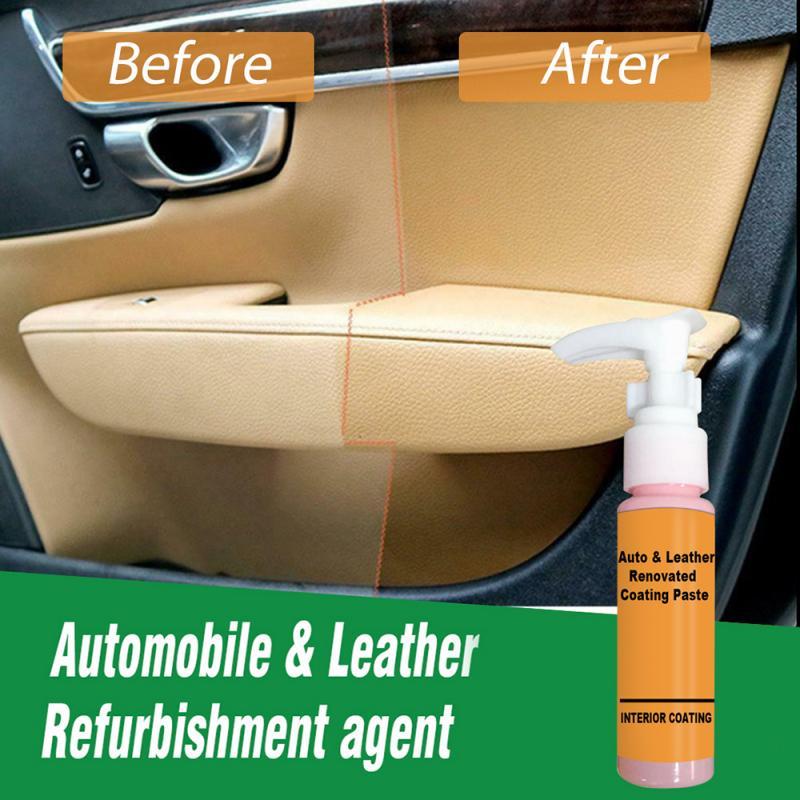 Усовершенствованный гель для ремонта кожи, 30 мл, крем для ремонта кожи автомобиля, восстановленная паста для ремонта кожи автомобиля, агент ...