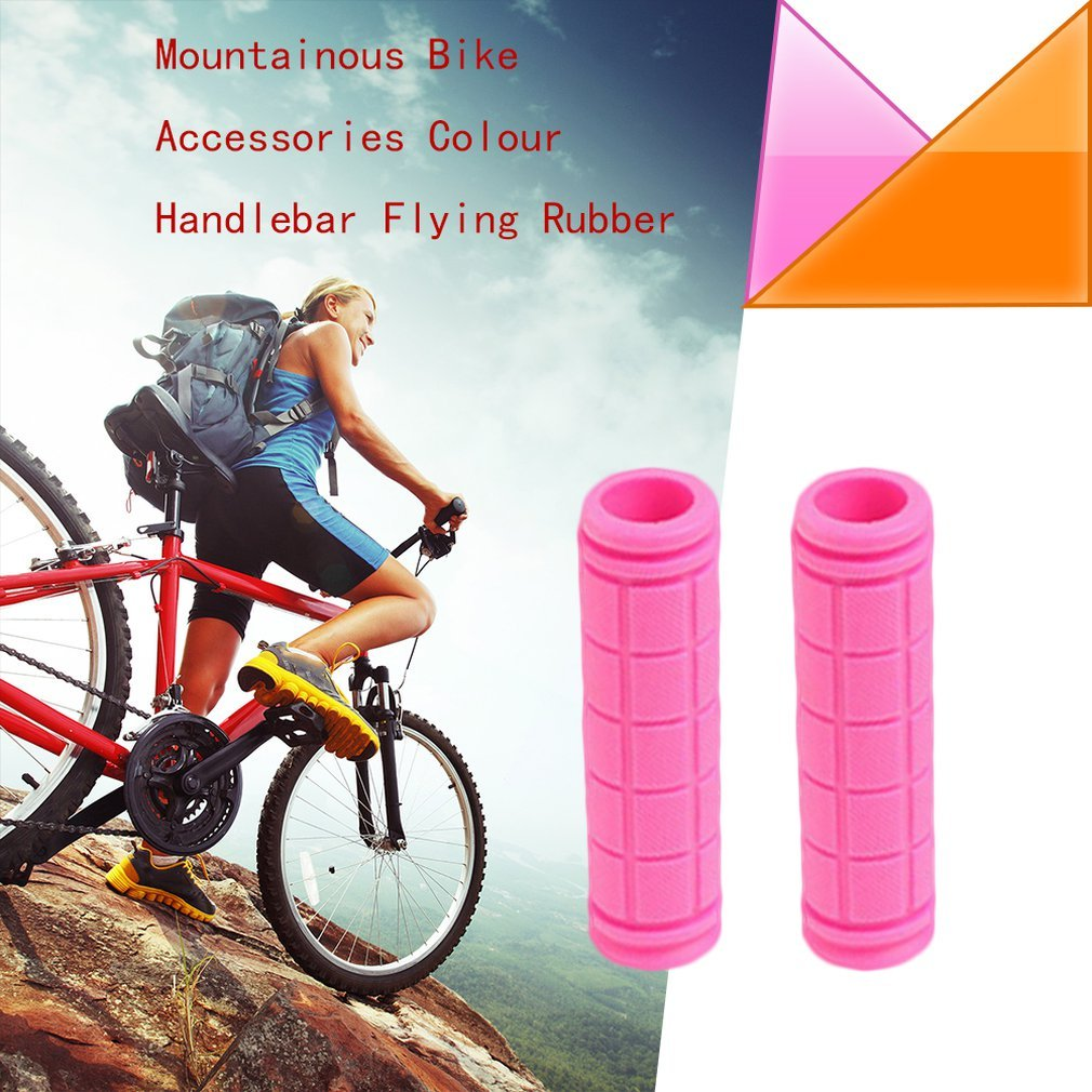 Dead Coaster Sets Of Mountain Bike Accessories Color Set Of Dead Coaster Rubber Super Soft Comfortable Handle