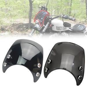 Image 1 - XL 883 שמשות שמשה קדמית אלומיניום 39mm 41mm להארלי Sportster XL 883 1200 מודלים 2004 2005 2006 2007 2008 2019 אופנוע