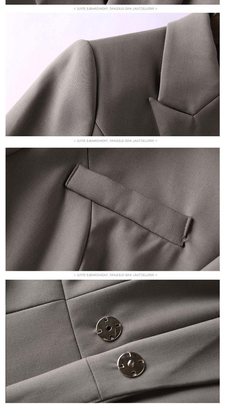 Suit women two-piece female blazer set temperament high-end female office ladies OL professional pants suit female autumn new 23