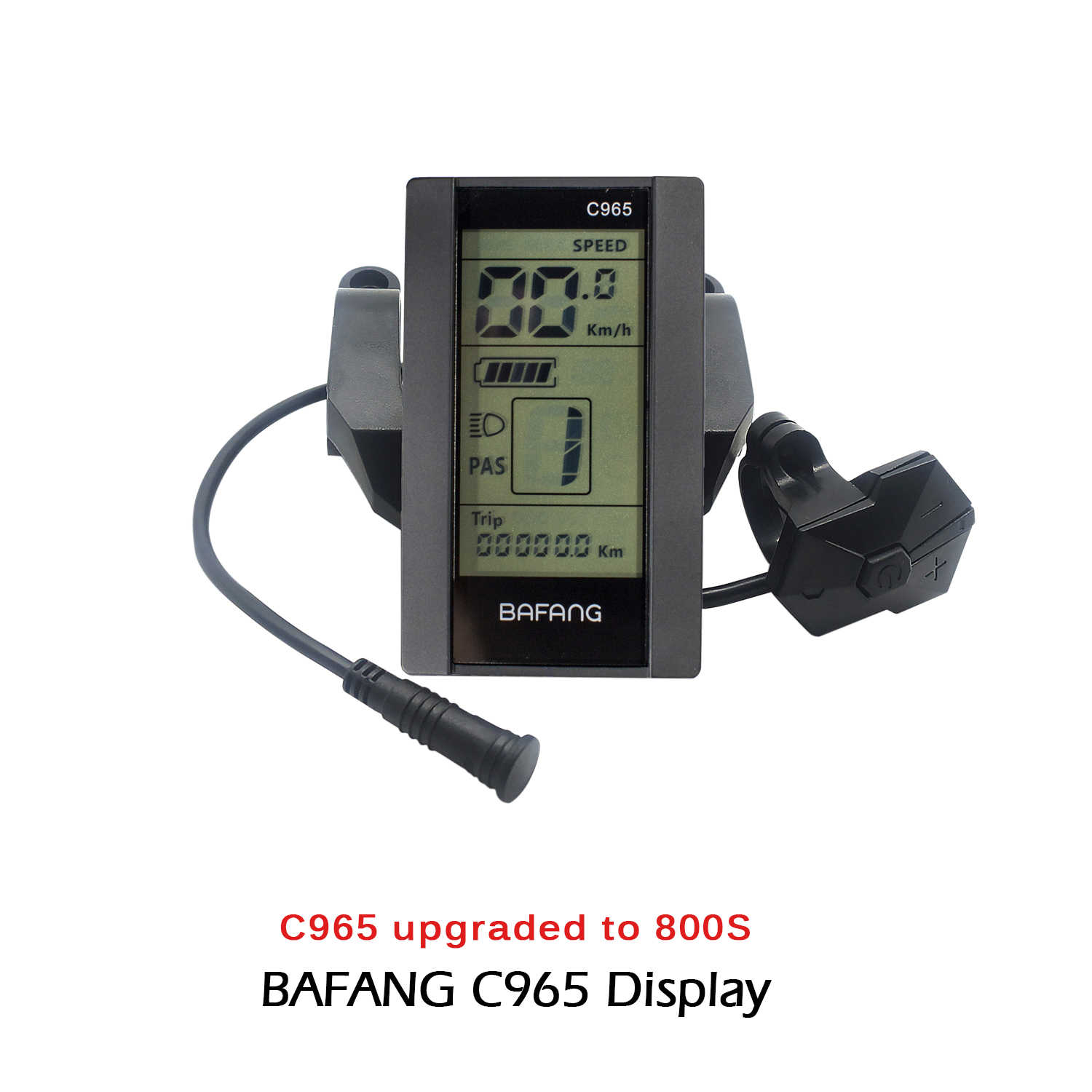 Electric Bicycle MIni LDC SW102 Display For BAFANG 8fun BBS01 02 03 HD Mid Motor