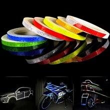 Reflective-Tape Adhesive Night-Sticker Car-Exterior-Accessories Car-Body Reflex Warning