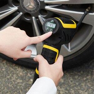 Image 5 - Auto handheld wireless luftpumpe smart digital display auto auto luftpumpe reifen tragbare abnehmbare batterie