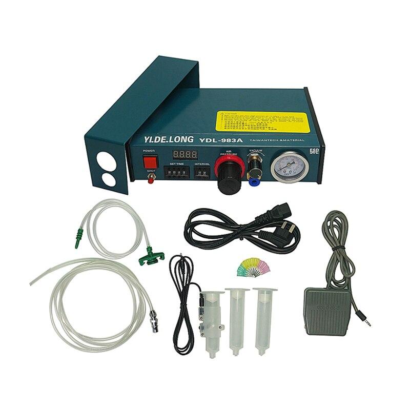 Solder Liquid Paste Dropper Automatic 983A Solder Machine Digital Controller Display Dispenser Glue Paste Fluid Glue YDL Dropper