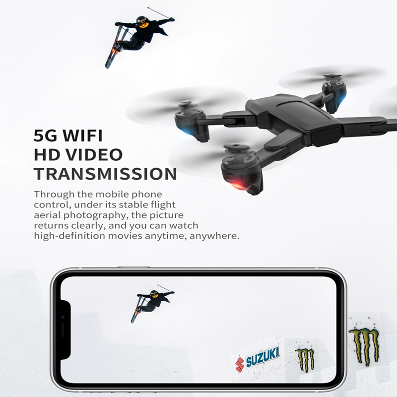 FEMA SG701/ SG701S RC GPS Drone with 5G WiFi FPV 4K Dual HD Camera Optical Flow Foldable Quadcopter Mini Dron PK E520S SG907 4