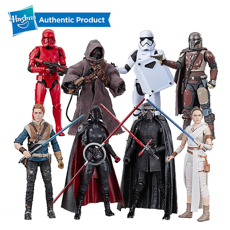 Hasbro Star Wars The Black Series First Order Stormtrooper Mainan 6 Inch Perang Terakhir Jedi Koleksi Action Figure