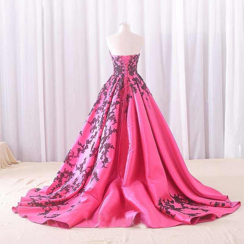 Angelsbridep sweetheart ball gown quinceanera dress 2020 레이스 업 백 스위트 16 드레스 블랙 아플리케 vestidos de quinceaneras