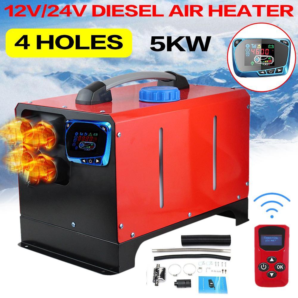 12V 24V 5KW 8KW Car Parking Heater Diesel Websato Eberspacher Air Diesels Parking Heater LCD Screen Switch CZ In Stock|Heating & Fans| - AliExpress
