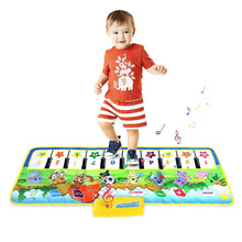 Kids Play Piano Gym Mats Baby music carpet / baby play mat / Baby Kid Child Piano Musical Carpet Education Learning Toys 100x36c 100 36cm comfortable soft baby educational piano toys musical instrument girls boys music carpet mat for kids children learning