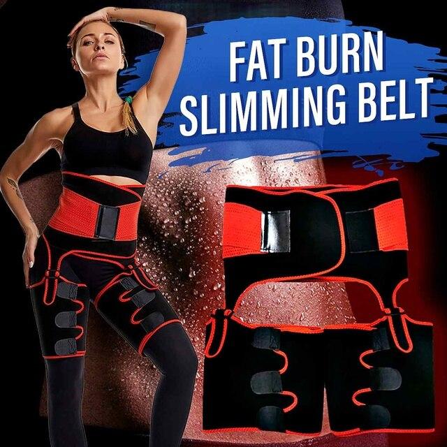 1Pcs Men Women Tummy Waist Trainer Cincher Sweat Belt Trainer Hot Body Shaper Slim Shapewear Sweat Belt Waist Cincher Trainer 1