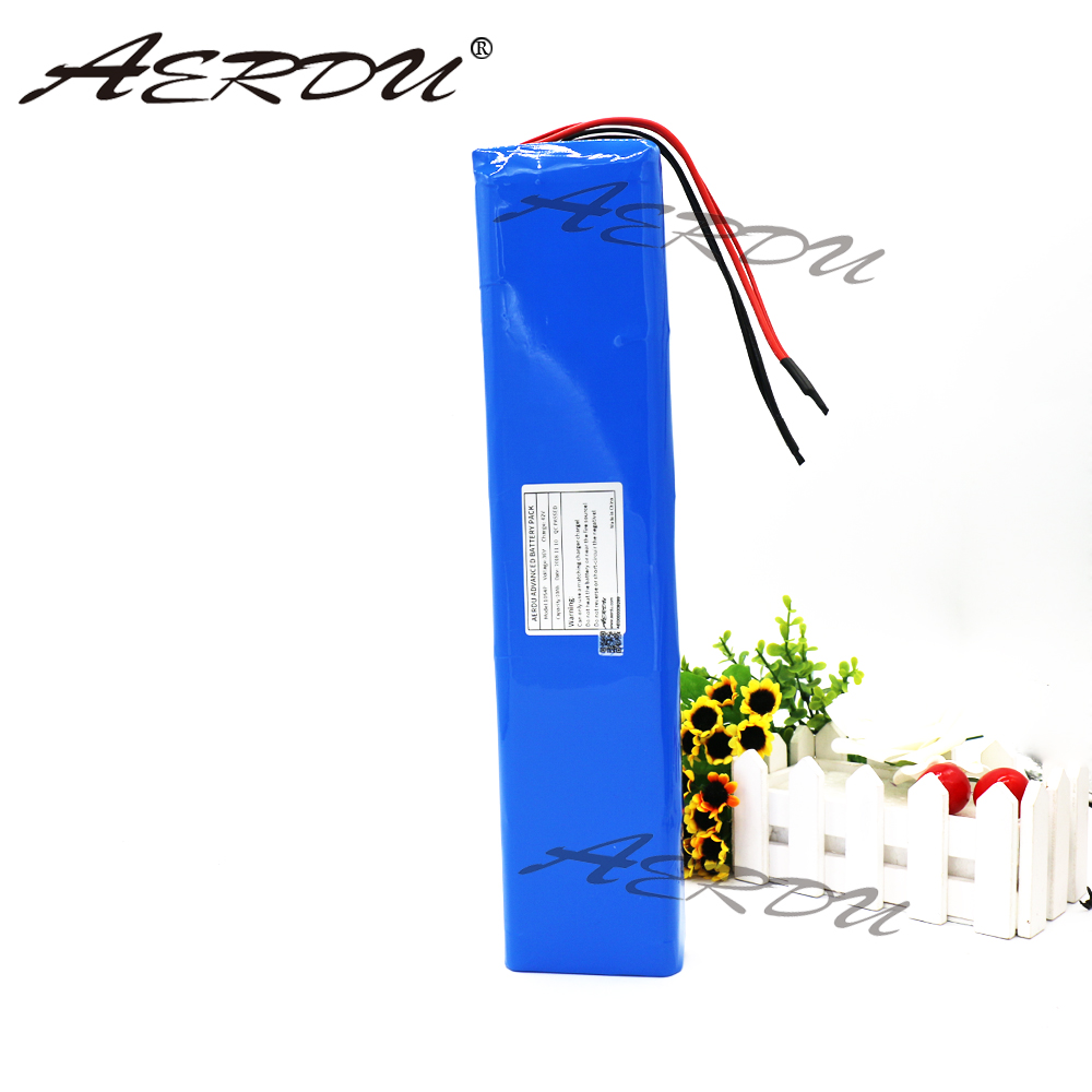 AERDU <font><b>36V</b></font> <font><b>10Ah</b></font> <font><b>18650</b></font> 10S4P 500W 600W Strip lithium ion battery pack For ebike electric car bicycle motor scooter with 20A BMS image