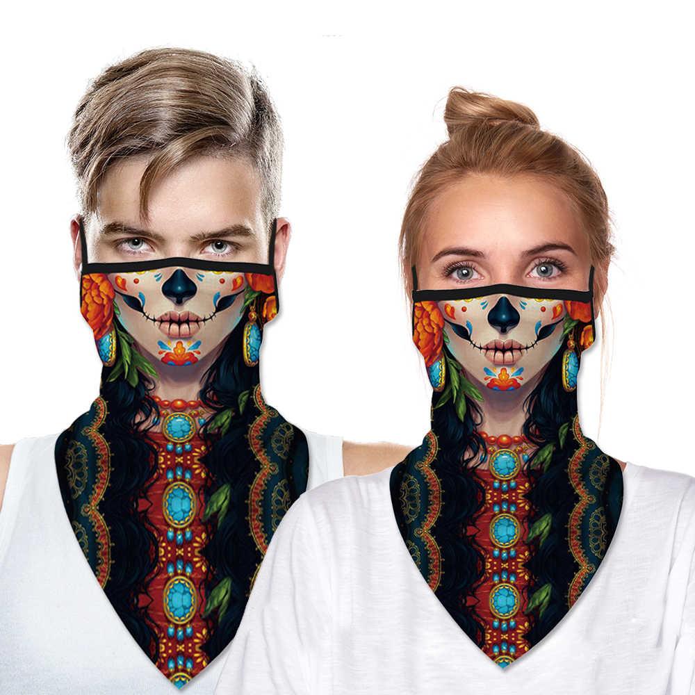 Multifunctional Face Mask Balaclava Skull Bandana Headband Scarf Neck Gaiter Sun UV Wind Protection Seamless Bandana Mask