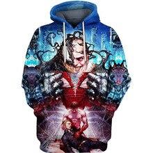 PLstar Cosmos marvel Kingpin with Venom 3d hoodies/shirt/Sweatshirt Winter long sleeve Pullover Fashion Harajuku streetwear
