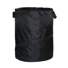 Portable Yard Garden Deciduous Trash Can Durable Weed Garbage Bag Leaf Storage Outdoor