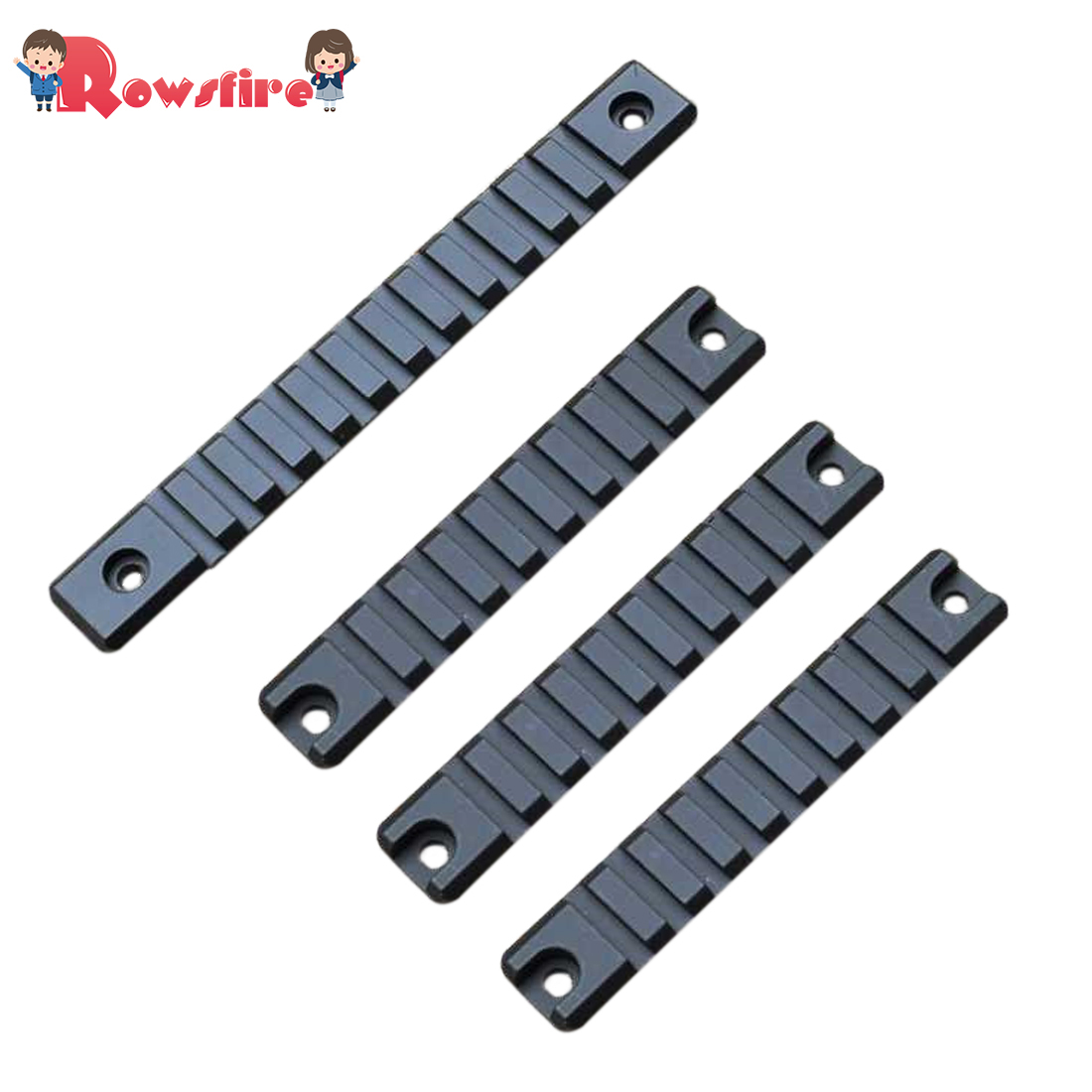 Metal Guide Rail For HFL UMP45 Water Gel Beads Blaster - Black
