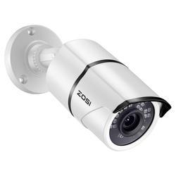 ZOSI 1080P HD POE IP-камера 2 Мп цилиндрическая IP-камера видеонаблюдения для системы POE NVR Водонепроницаемая наружная камера ночного видения