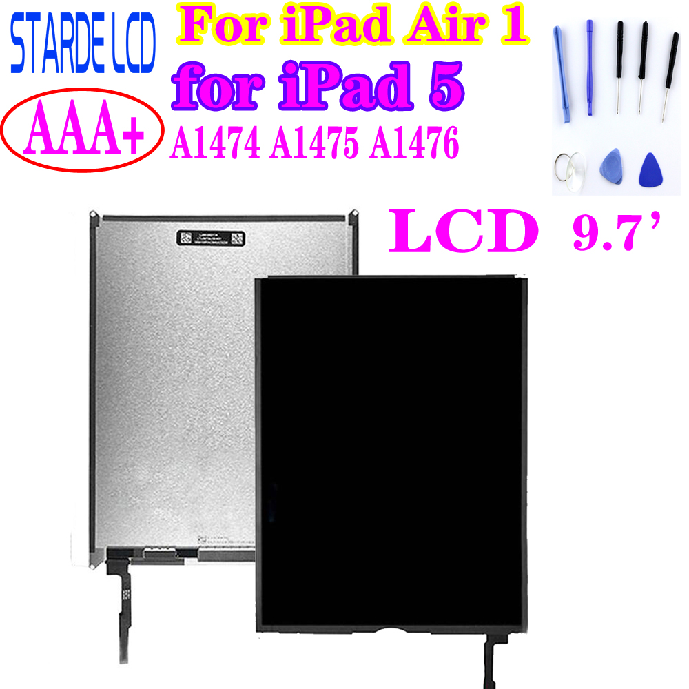 STARDE LCD For IPad Air 1 For IPad 5 A1474 A1475 A1476 LCD Display Or Touch Screen Digitizer 9.7''