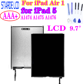 STARDE LCD For iPad Air 1 for iPad 5 A1474 A1475 A1476 LCD Display or Touch Screen Digitizer 9.7'' image
