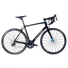 Katazer 700C droga rowerowa Super lekka pełna T700 rama karbonowa rower szosowy wyścigowy węgla koła 22 prędkości profesjonalny rower szosowy tanie tanio catazer Unisex Z włókna węglowego Other 9 kg 1 33 Pokój v hamulca 15kg 0 1 m3 Nie Amortyzacja Zwyczajne pedału Rama twardego (nie tylny amortyzator)