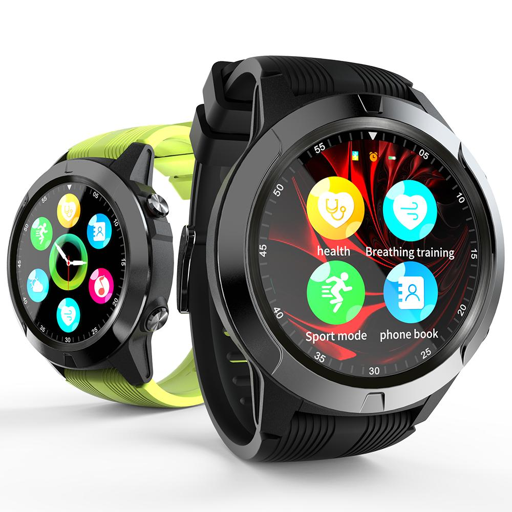H24b484e6fcc94293b416f10ea1b9ad7fR 2020 Built-in GPS Smart Watch GSM bluetooth Call Phone Air Pressure Heart Rate Blood Pressure Weather Monitor Sport Smartwatch