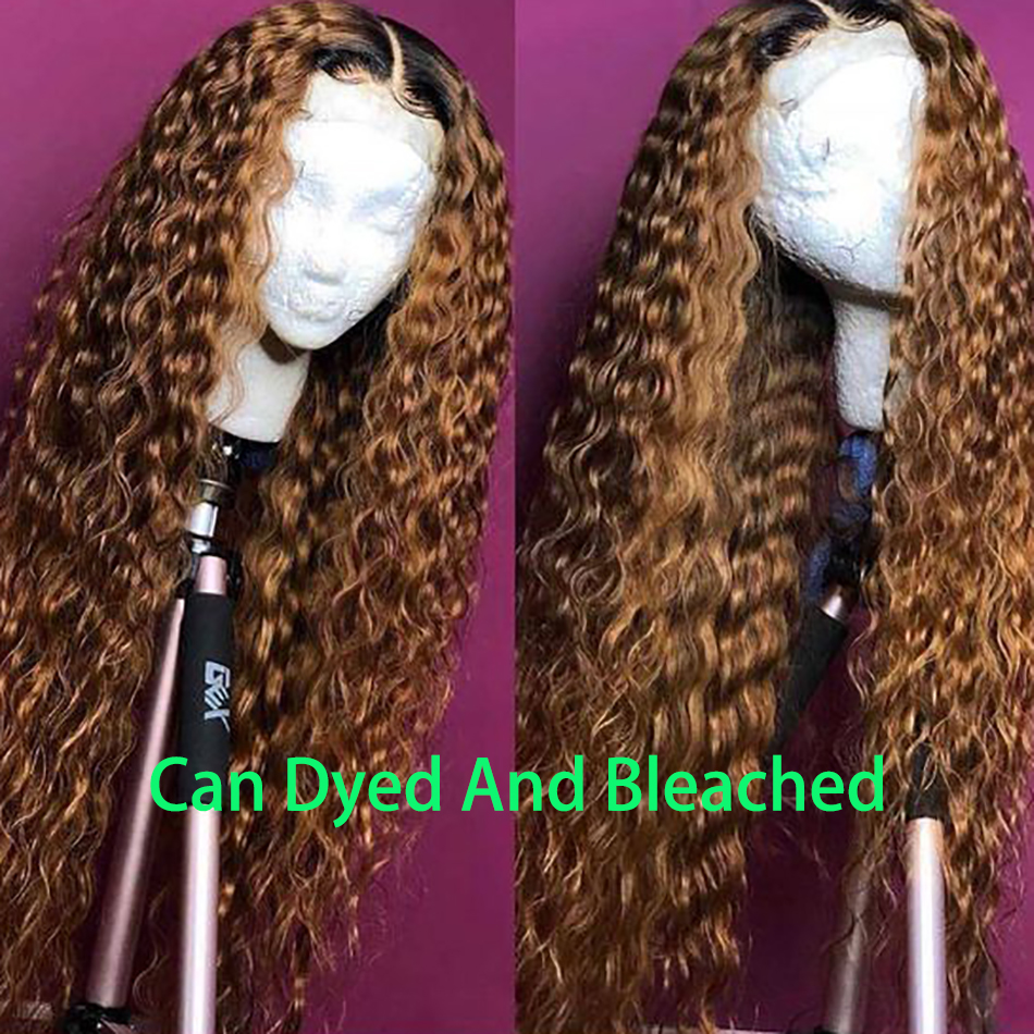 Iwish Lace Front Human Hair Wigs For Women Remy 13x4'' 150% Brazilian Lace Front Wig Pre Plucked With Baby Hair Deep Wave Wig