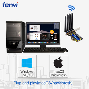 Image 5 - Fenvi T919 1750Mbps PCIe Desktop Wifi Card BCM94360CD For macOS Hackintosh 802.11ac Bluetooth 4.0 Dual Band Wireless Adapter