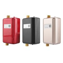 3800W Electric Water Heater Digital Instantaneous Tankless Water Heater Kitchen Bathroom Shower Instant Water Heated 220V