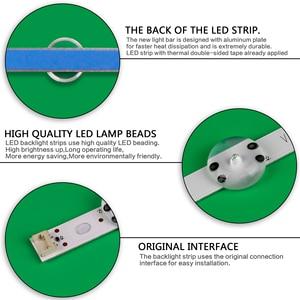 """Image 5 - Светодиодная лента для подсветки 10 ламп для LG SUNG WEI55V0 E74739 94V 0 43 """"V17 art3 2867 TV 43LJ614V 43LV340C 43UJ670V 43UJ6565 43UJ6525"""