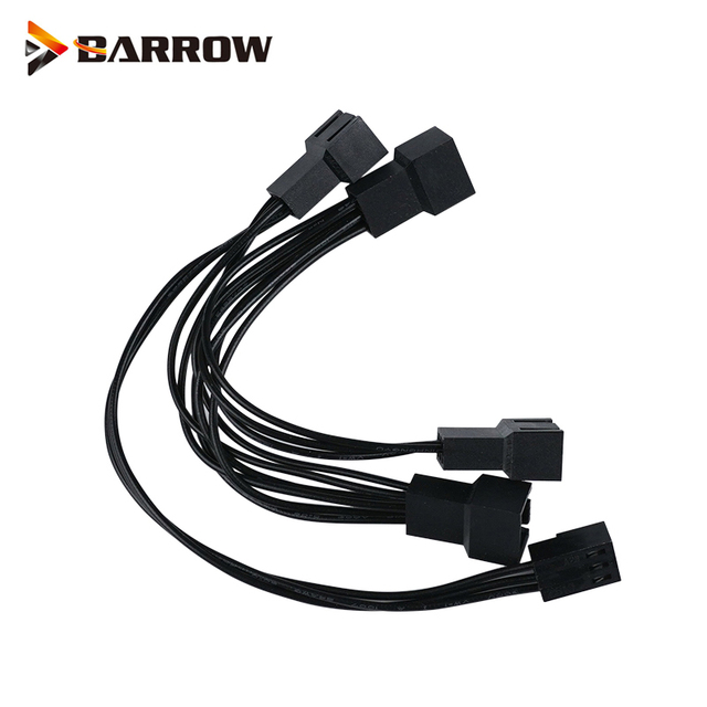 Barrow 5V AURA 1 To 4 Spliter Cable For LRC RGB V2 Control System Light Component,ARKZXS1-4