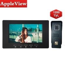 Sistema de interfone video porta 7 Polegada, painel de entrada de vídeo da porta, intercoms para painel de chamada doméstica privada