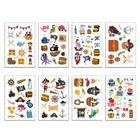 16 Pcs Tattoo Sticke...