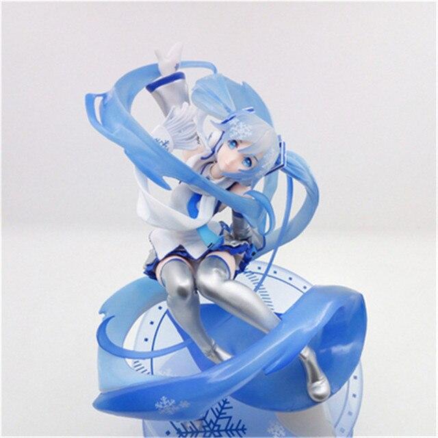 25Cm Hatsune Anime Figure Models Japanese Virtual Singer Miku Dolls Blue Movie & Tv Periphery Dolls Gift Unisex Pvc Material New