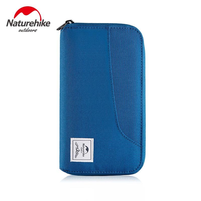 Naturehike Rfid Passport Holder Travel Wallet Waterproof Case Organizer with Zipper