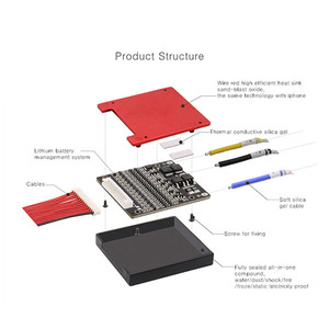 Image 2 - Deligreen 7S 15A 20A 30A 40A 50A 60A 24V PCM/PCB/BMS für 3,7 V lithium batterie pack 18650 Lithion LiNCM Li Polymer Roller