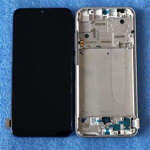 """Image 2 - 6.09 """"Ban Đầu AMOLED Axisinternational Dành Cho Xiaomi A3 1906F9 Màn Hình LCD + Bảng Điều Khiển Cảm Ứng Bộ Số Hóa Khung Viền Cho Xiaomi Mi CC9e"""
