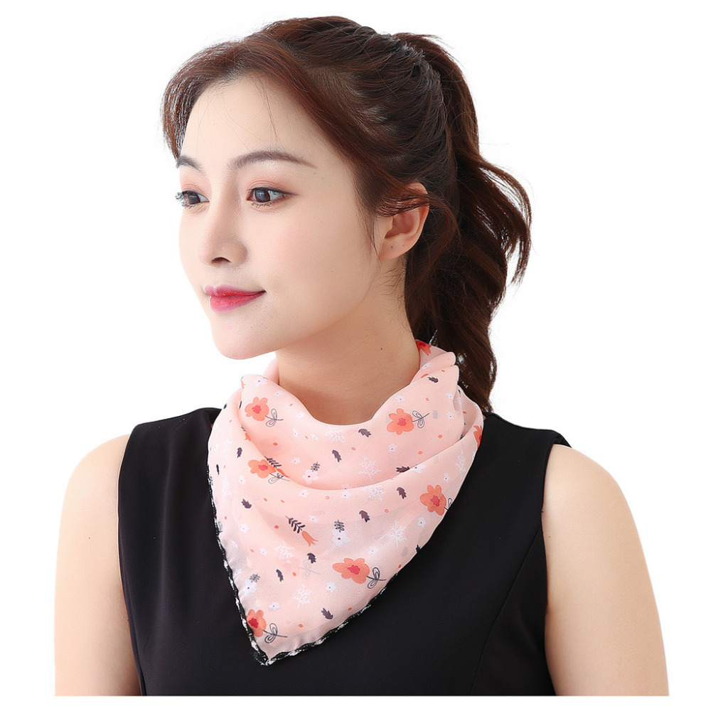 Women's Protective Washable Cotton Scarf Mask 9