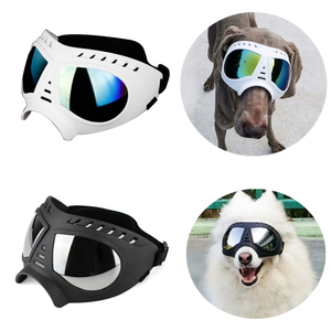 Pet Dog UV Sunglasses Black/Wh
