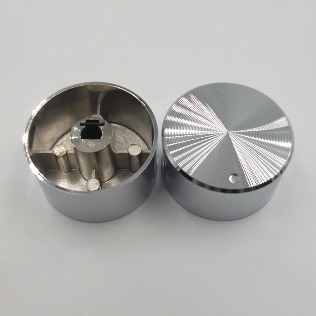 Rotary switch gas stove parts stove gas stove knob stainless steel round knob  Knob for  gas stove