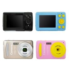 цена на Children Digital Camera Video Camcorder Multi colored Camera 720P HD Mini Photo Video Camera 2.4'' Screen Best Gift For Children
