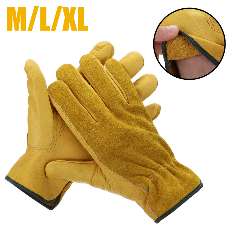 M/L/XL Gauntlet Garden Gloves Protective Household Practical Flower Thorn Proof Digging Garden Gloves