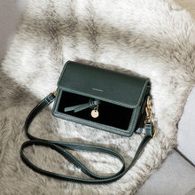 2019 New Bag women Korean Style Shoulder Casual Crossbody Leather Small Square
