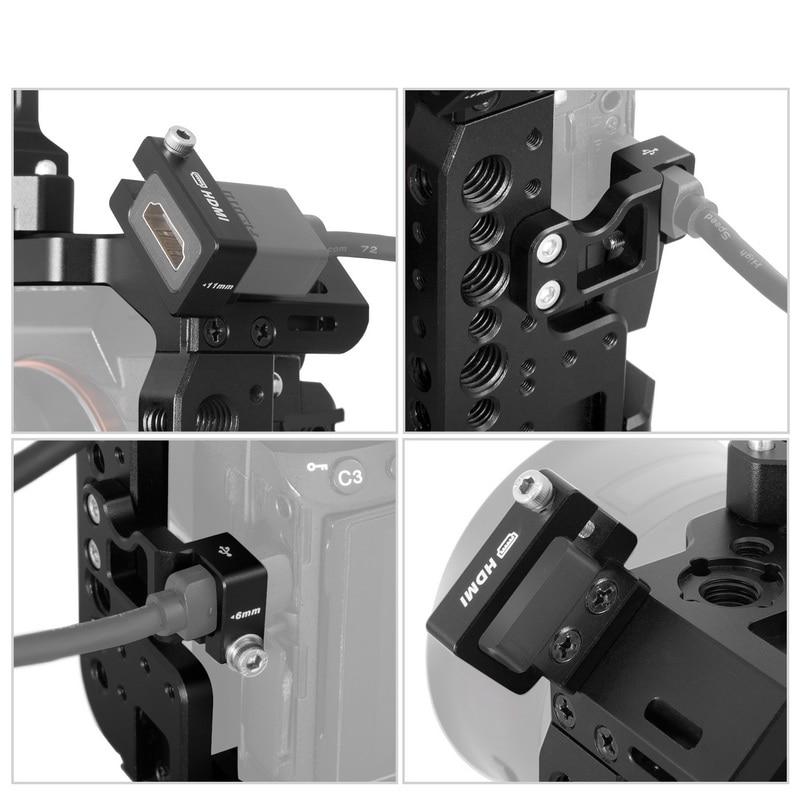Udhëzim kafazi kamera Selens a7iii a7r3 a7m3 për mbajtësin e - Kamera dhe foto - Foto 6