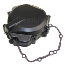Para suzuki gsxr1000 2005 2006 2007 2008 gsxr GSX R1000 k5 k6 k7 k8 motocicleta de alumínio do motor estator cárter capa com gaxeta