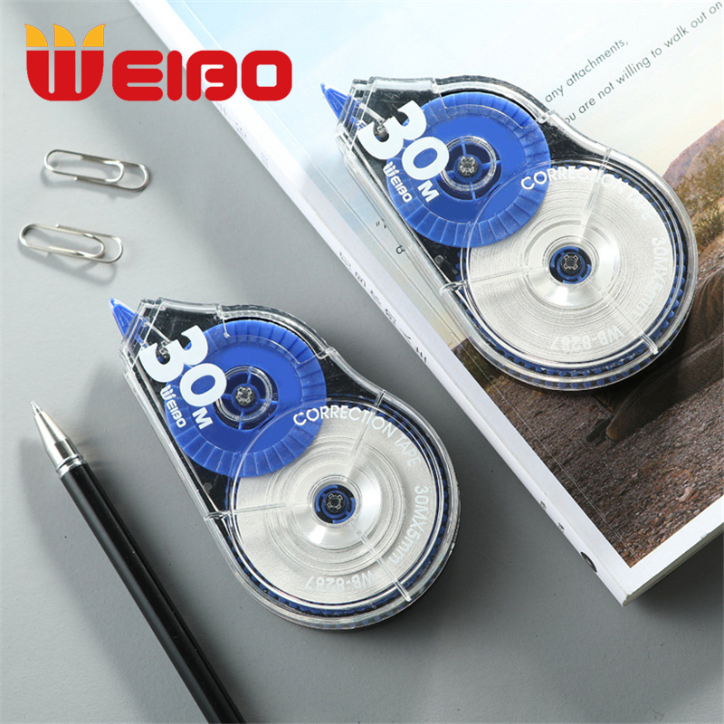 WEIBO 30m/30m*5  Correction Tape Material Stationery Office Kids Student Gift School Supplies Corrector Tape