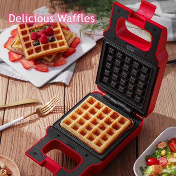 Sandwich Machine Toaster Breakfast Machine Artifact Household Bread Light Food Machine Waffle Multi-Function Spitting Driver 2