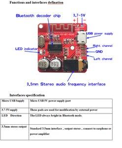 Image 3 - 10PCS Bluetooth Audio Empfänger bord Bluetooth 4,1 mp3 verlustfreie decoder board Wireless Stereo Musik Modul