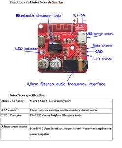 Image 3 - 10PCS Bluetooth Ricevitore Audio Bluetooth scheda di 4.1 mp3 scheda di decodifica lossless Stereo Senza Fili di Musica Modulo