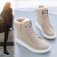 Зимние ботинки koovan женская обувь новинка 2020 зимняя с хлопковой