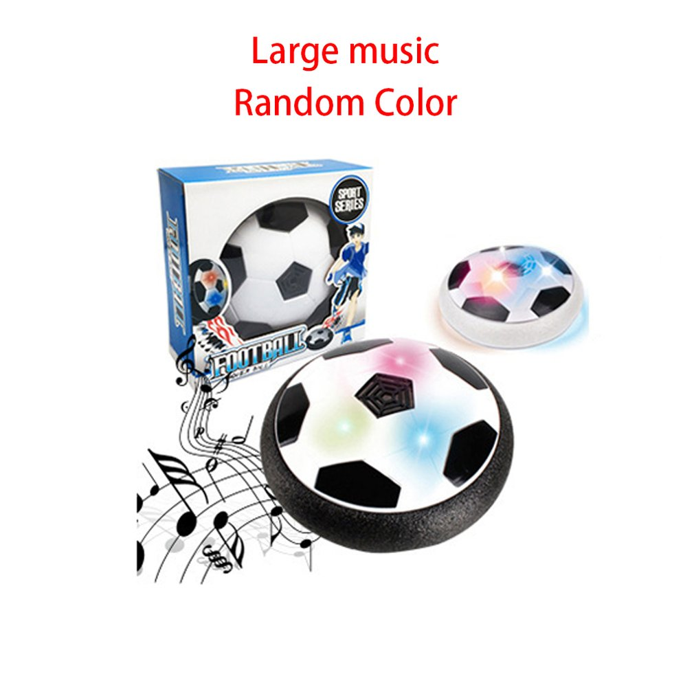 Creative Ball Toy Air Power Soccer Ball Indoor Football Toy Multi-surface Hovering Gliding Toy For Kids